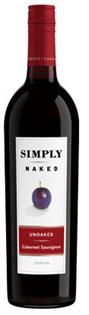 Simply Naked Cabernet Sauvignon Unoaked 2011 750ml - Case...